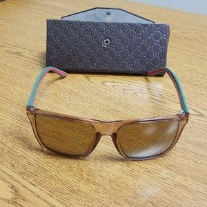 58860935e90 gucci Accessories - Gucci GG 3535 S CLQVP Acetate Brown Mirror